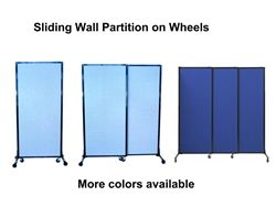 Beautiful Wall Dividers On Wheels