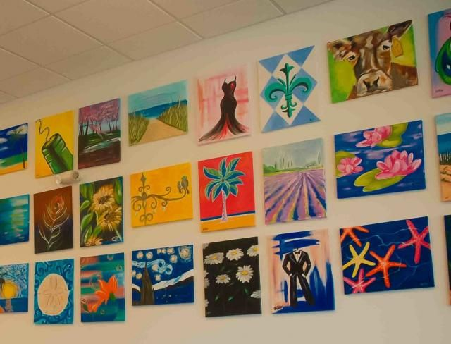 Wine Painting Parties In Clayton Nc By Wine And Design Wine And