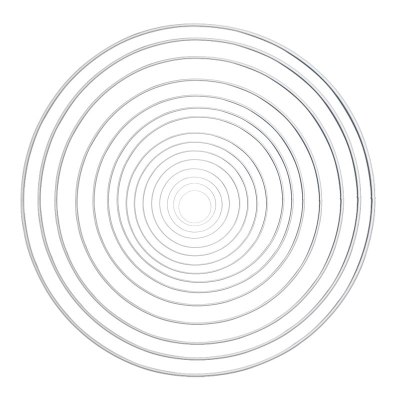metallringe drahtringe f r traumf nger weiss 8 50cm 2 20 eur traumf nger wei metall ring