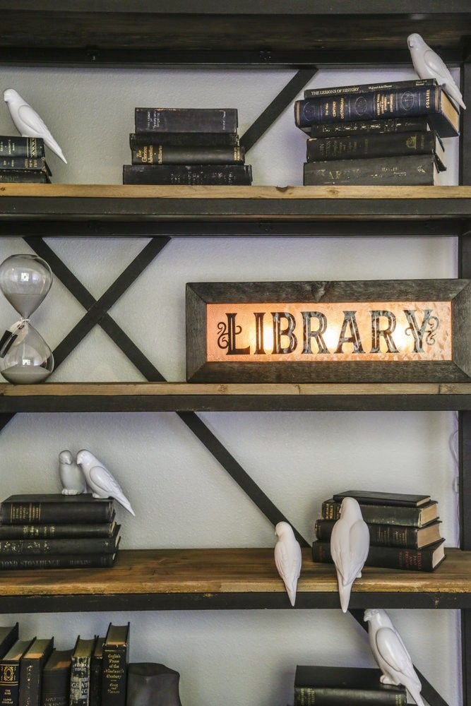 Home Library Loft: Library Loft Ladder Bookcase