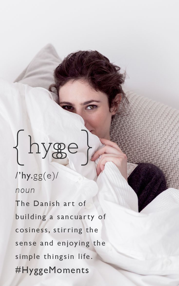 Hygge Style Living Room: Hyggeligt.
