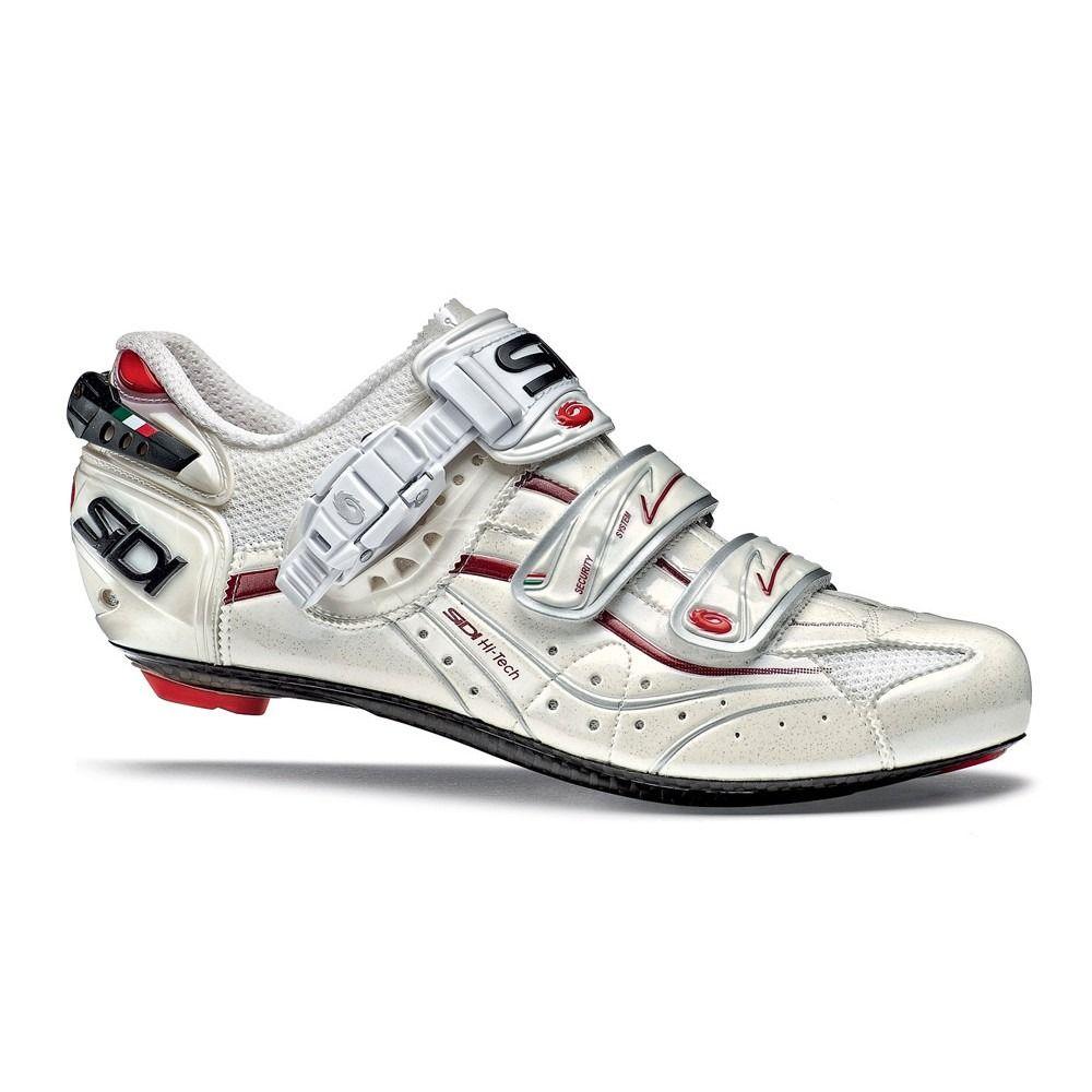 Genius 5 Fit Road Bike Bicycle Cycling Shoes White SIDI