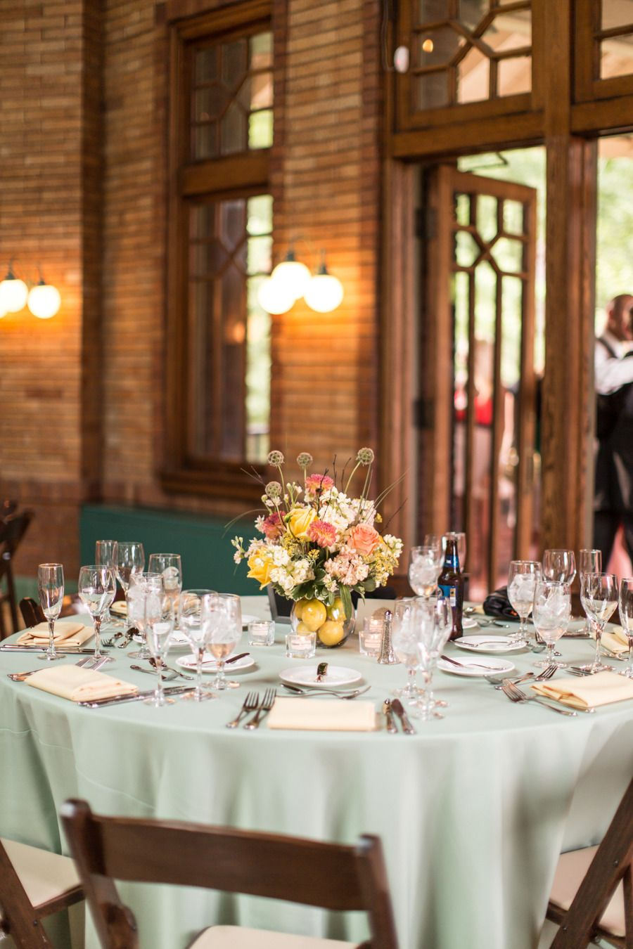Chicago Wedding at Cafe Brauer from Cristina G Photography