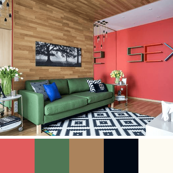 Modern Interior Design Trends Bring Colorful Decorating Schemes, Unusual  Solutions And Surprising Blend Of Decoration Patterns Into Homes