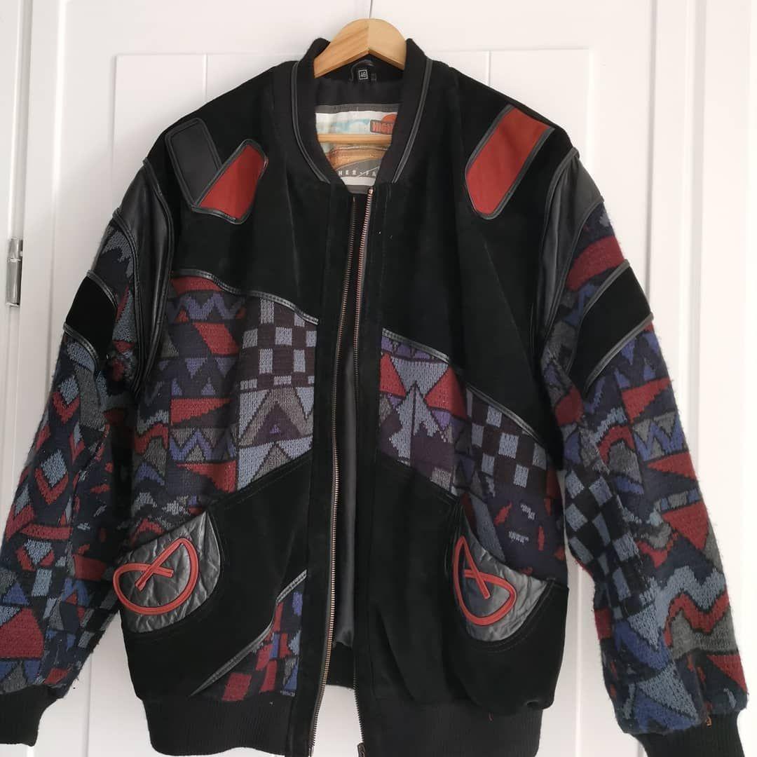 doe een bod highway vintage leren jas draagbaar met mt m