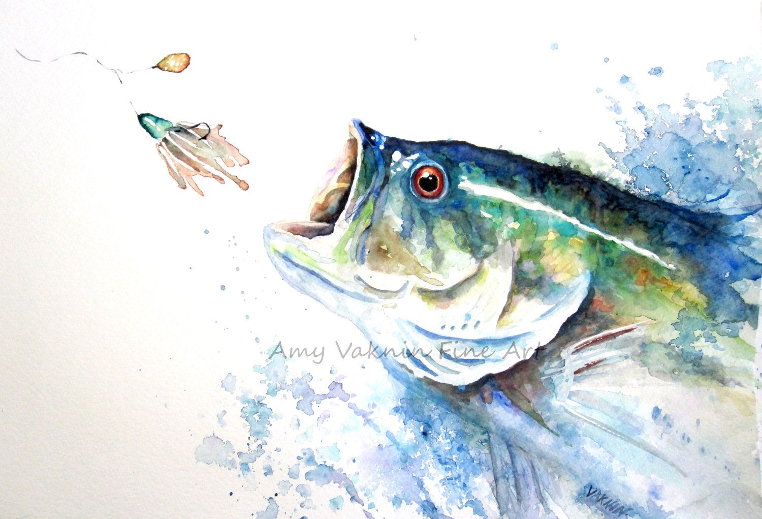 Watercolor Fish With Images Watercolor Fish Fish Art Fish