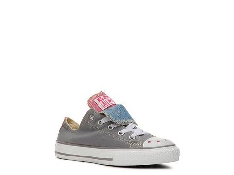 3068d65312e6 Converse Chuck Taylor All Star Double Tongue Girls Toddler   Youth Sneaker