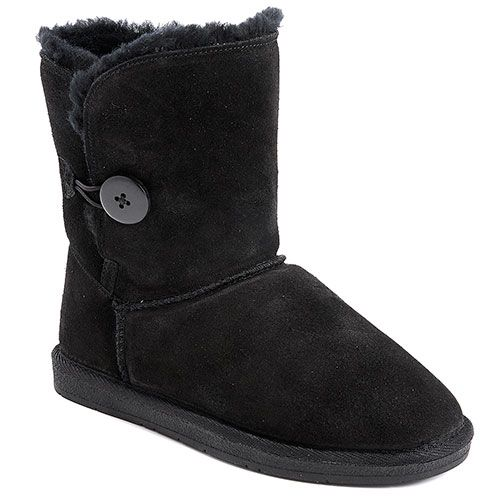Black Boots Suede