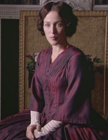 "Gillian Anderson - ""Bleak House"" (TV 2005) - Costume designer : Andrea Galer"