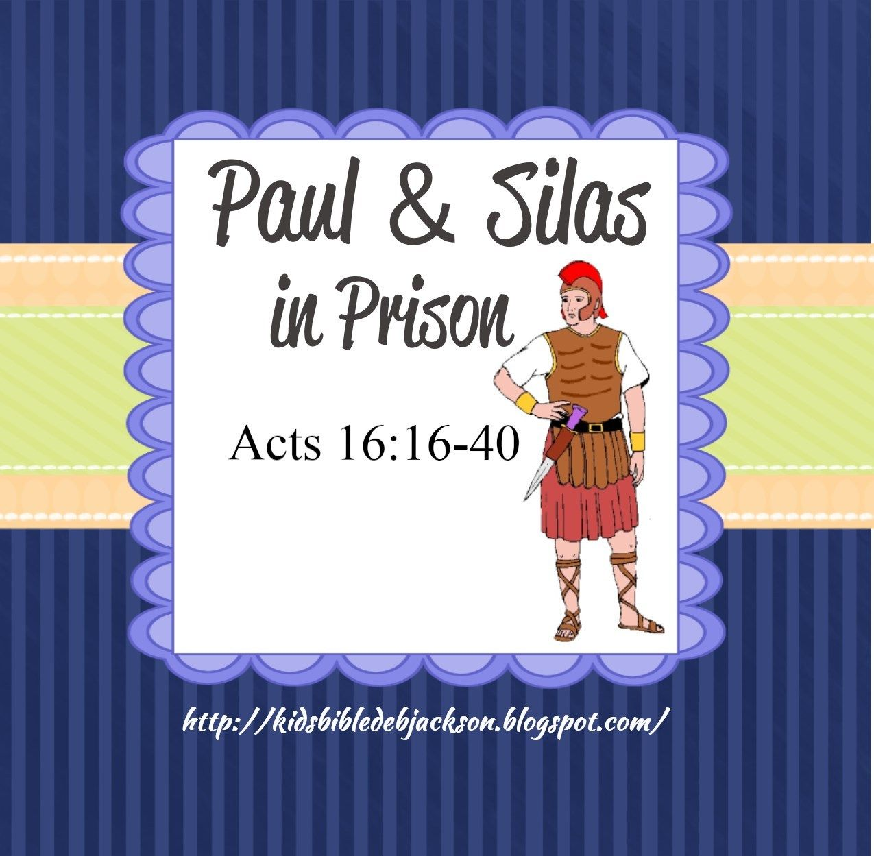 Paul Amp Silas In Prison