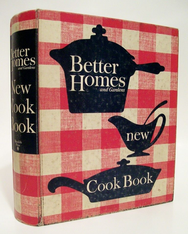 Better Homes And Gardens Cook Book...1965 Edition...a Must