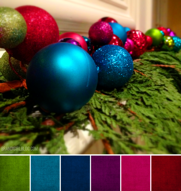 Christmas Color Schemes.Pin On Color