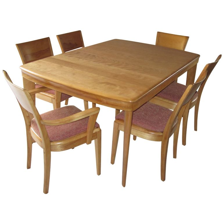 Mid Century Modern Dining Set by Heywood Wakefield