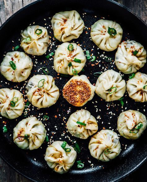 Photo of Homemade vegan dumplings Potstickers Madeline Lu
