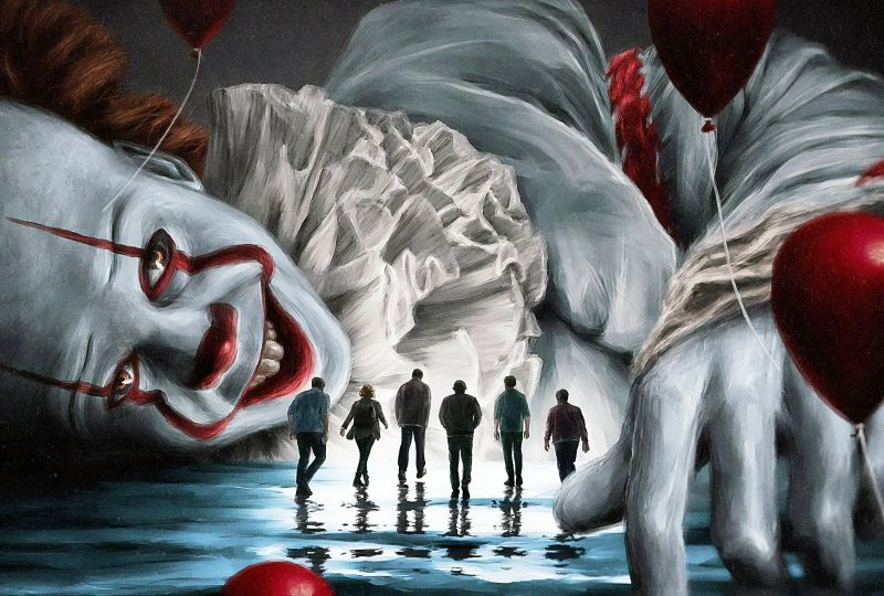 Movie It Chapter Two Clown Pennywise Wallpaper Wallpaper