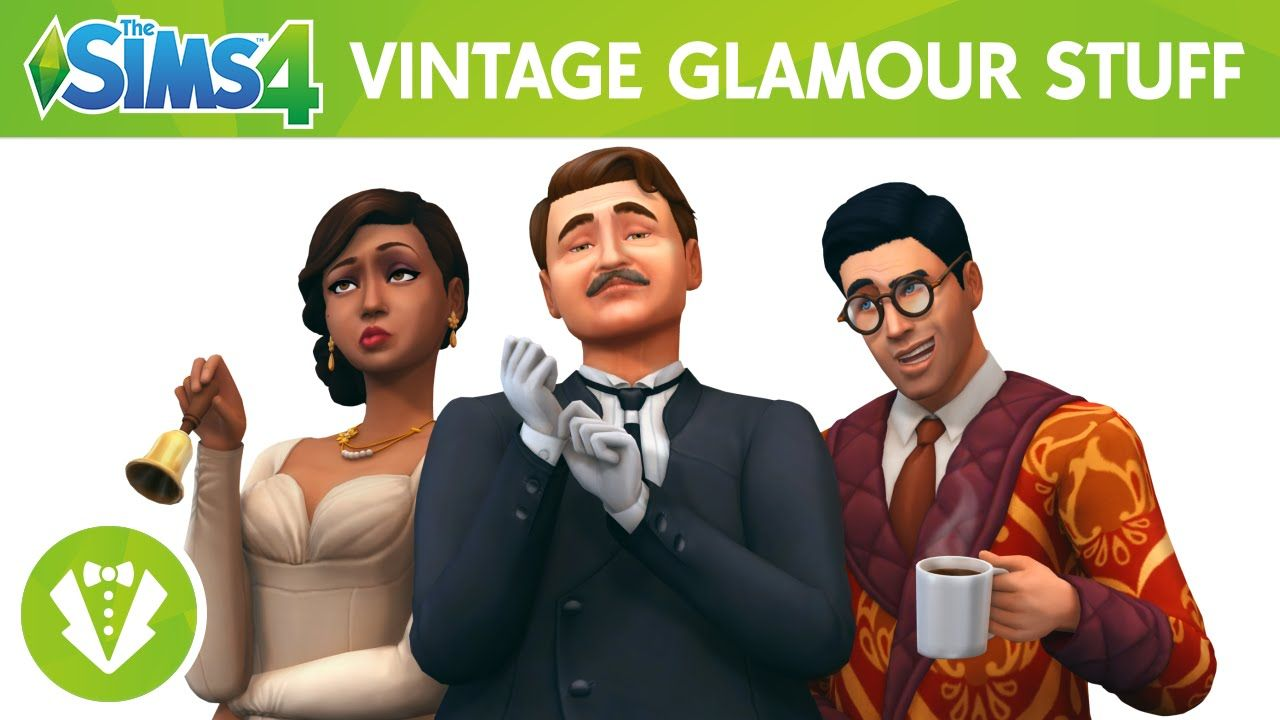 The Sims 4 Stuff Pack Vintage Glamour Stuff Sims 4 Vintage Glamour Sims 4 Vintage Glamour