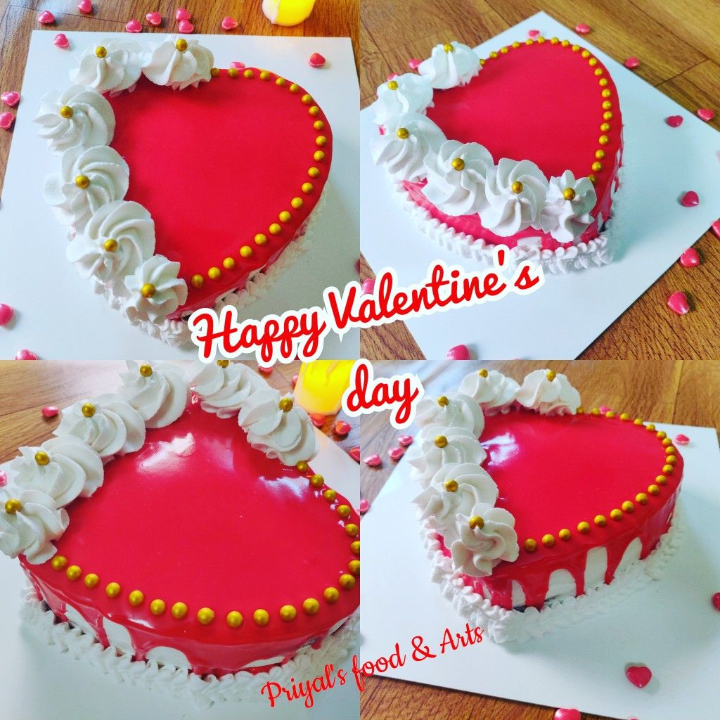 Heart Shape Cake Mirror Glaze Cake In 2020 Eggless Red Velvet Cake Velvet Cake Recipes Red Velvet Cake