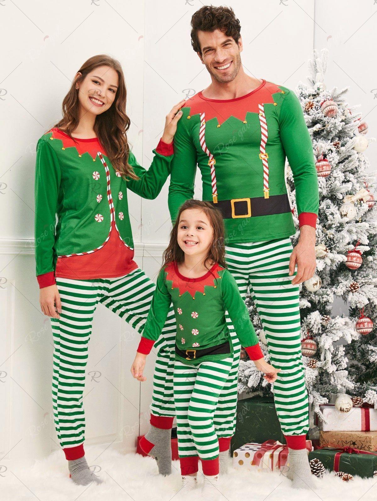 Christmas Elves Matching Family Pajamas , Affiliate,