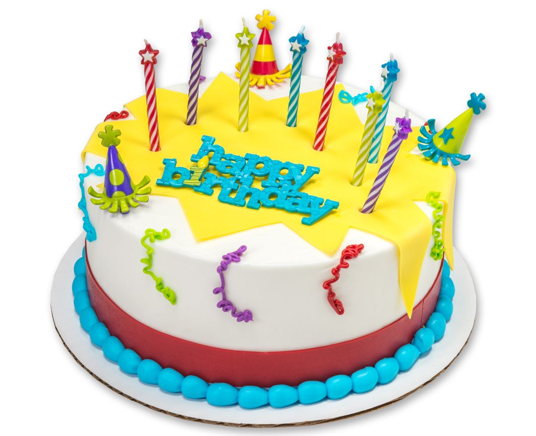 Add Colorful Birthday Wishes To Any Cake With A Happy Birthday Cake