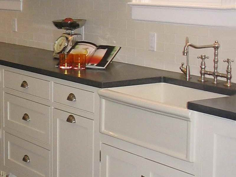 Why Choosing Concrete Countertops Michigan With White Cabinet .