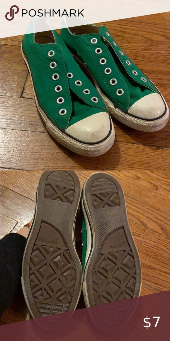 Green converse size 7 (women) in 2020