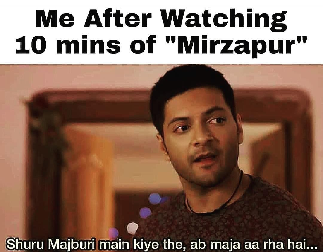 Haha Tag Someone Who Had The Same Reaction Vikrantmassey87 Divyenndu Battatawada Mihirbd Hars Super Funny Memes Latest Funny Jokes Memes Sarcastic