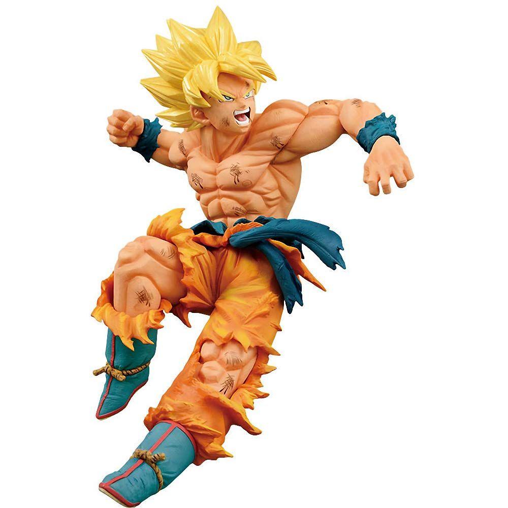 Figura de acción Banpresto Goku SSJ 2 sculpture 14 cm Budokai 6 DRAGON BALL Z