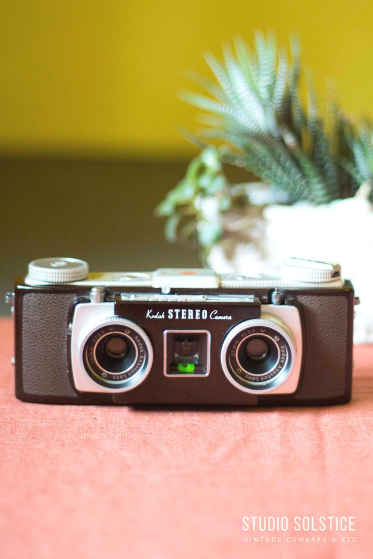 Kodak Stereo Vintage Film Stereo Camera Etsy Stereo Camera Photo Lens Vintage Film