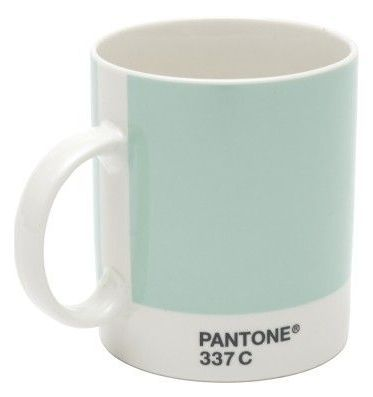 I drink my coffee from Pantone mugs every day. This is my favorite color.