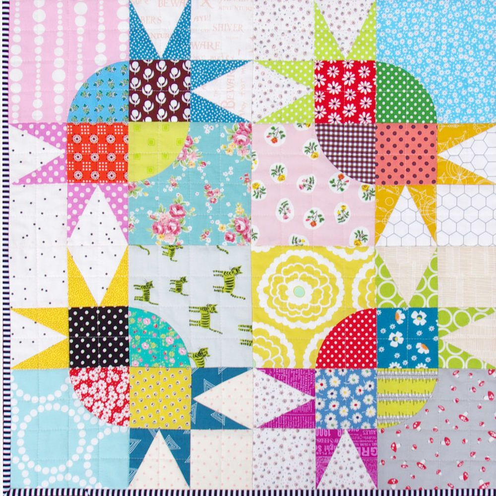 Quilt Patterns And Templates : Pickle Dish Variation Quilt - Templates and Foundation Paper Piecing Pattern Quilt, Paper ...