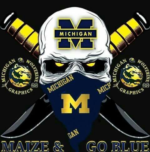 Hail Michiganwolverines Football Goblue Michigan