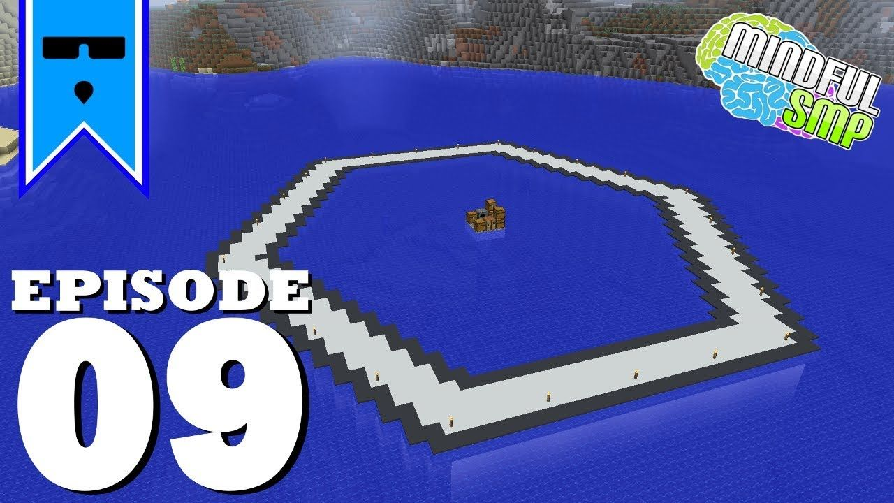 Mindful Smp Episode 9 Making The Hexagon And End City Raiding