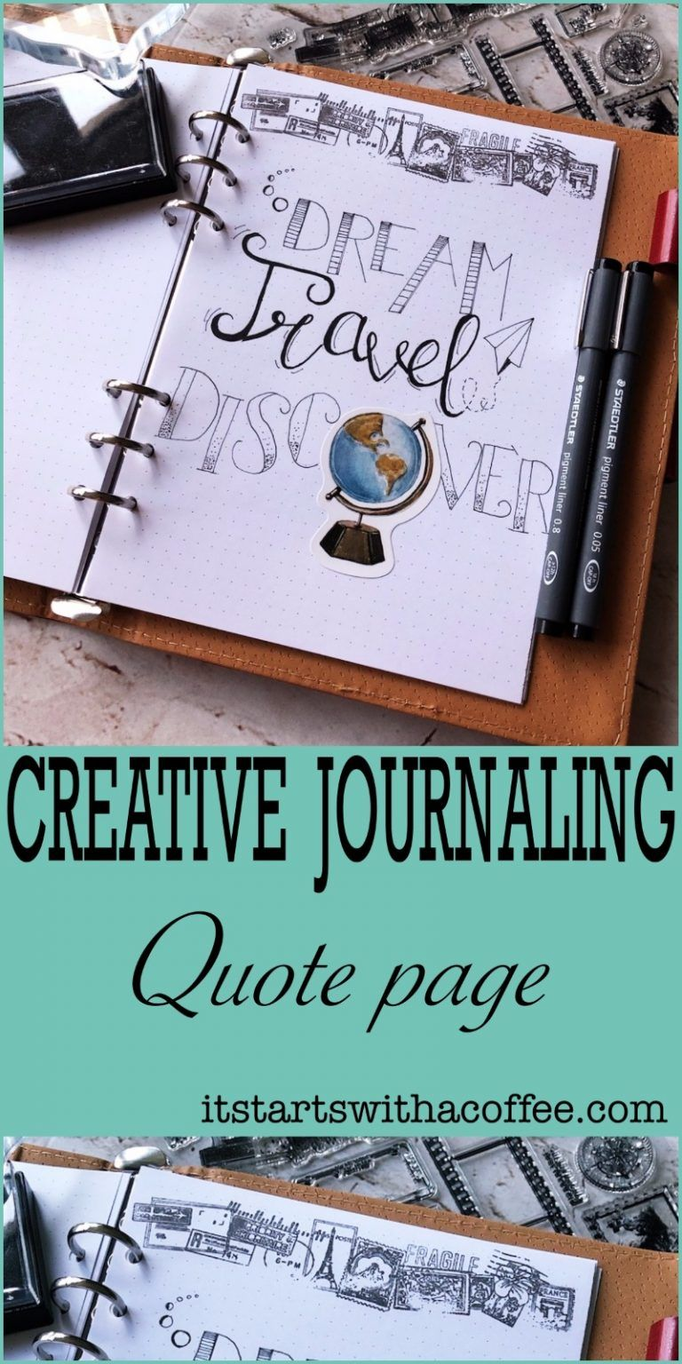 Creative journaling – Quote 2 albumi