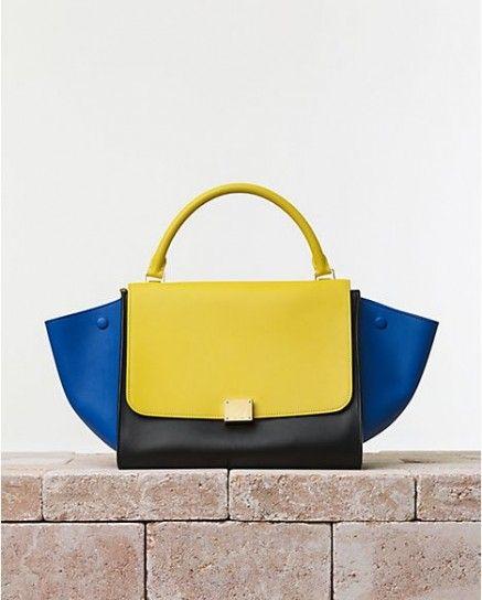 1ac02e2d5444 Handbag in color block Celine