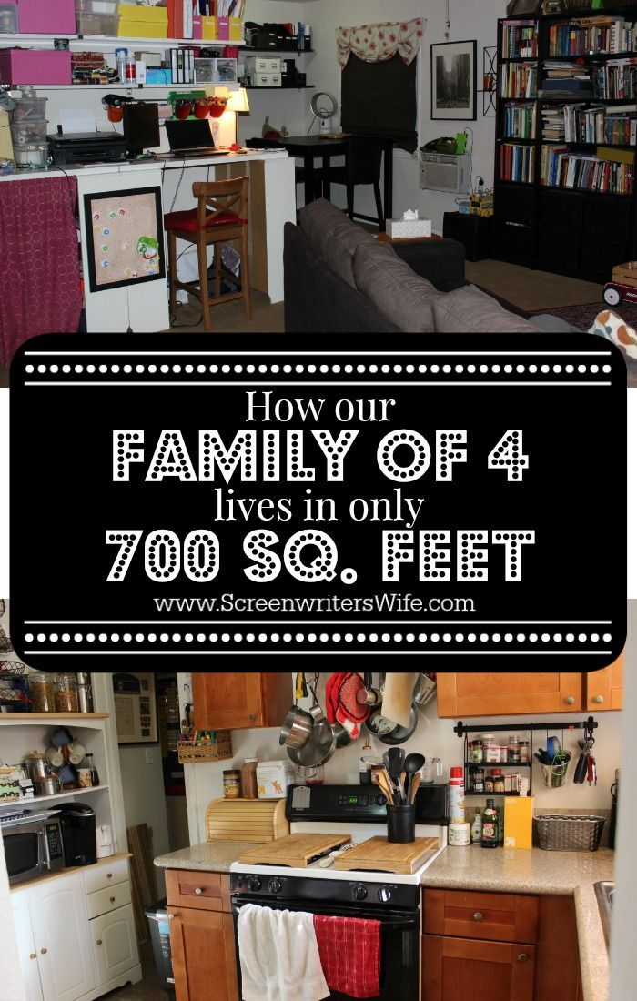 How Our Family Of 4 Lives In A 700 Sq Ft House Other
