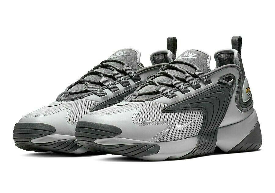 Nike Zoom 2K Mens Running Shoes 10.5 Wolf Grey Dark Grey ...