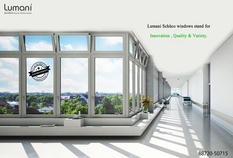 Lumani Schuco windows stand for innovation, Quality