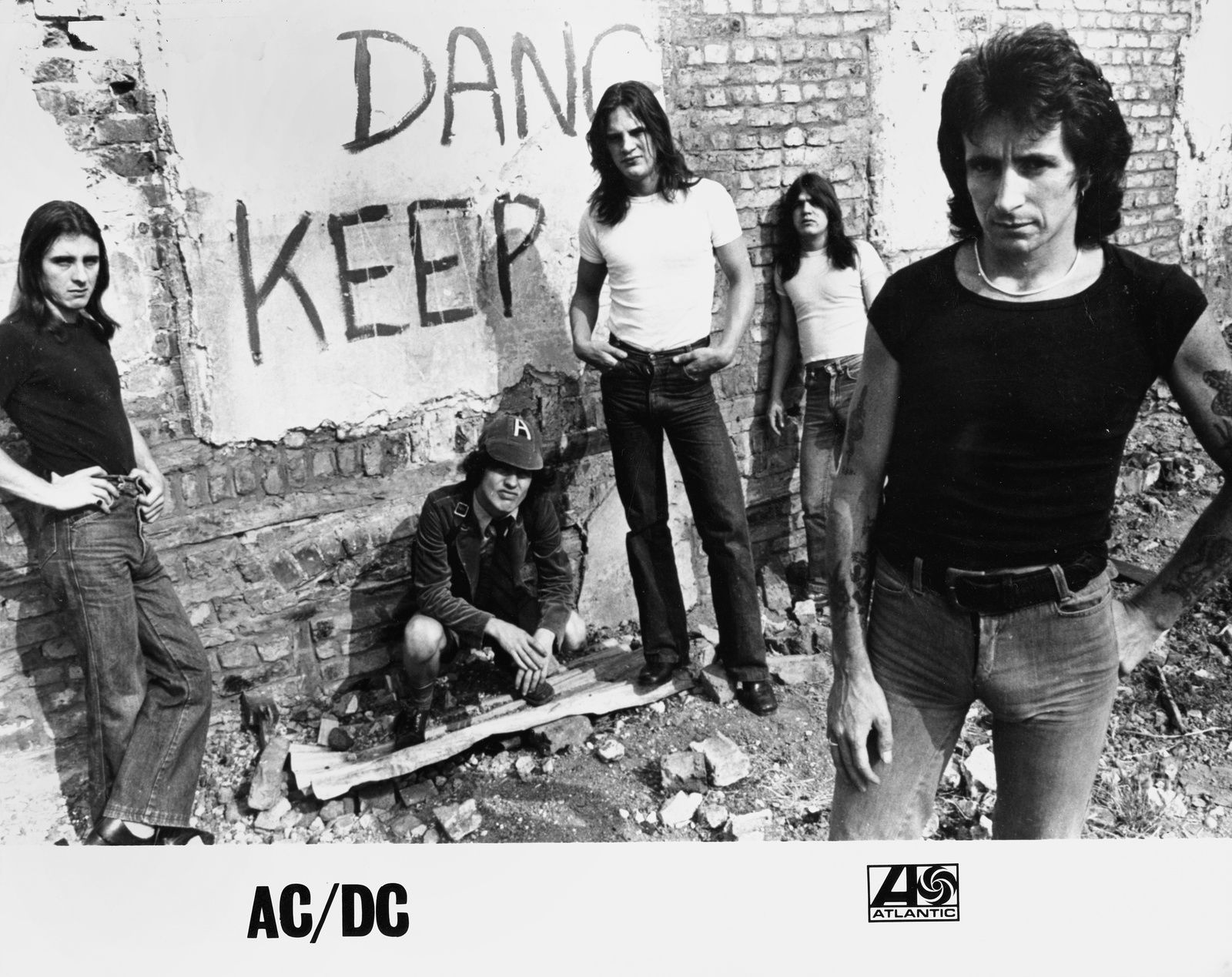 AC DC 1978 Bon Scott Years Pinterest