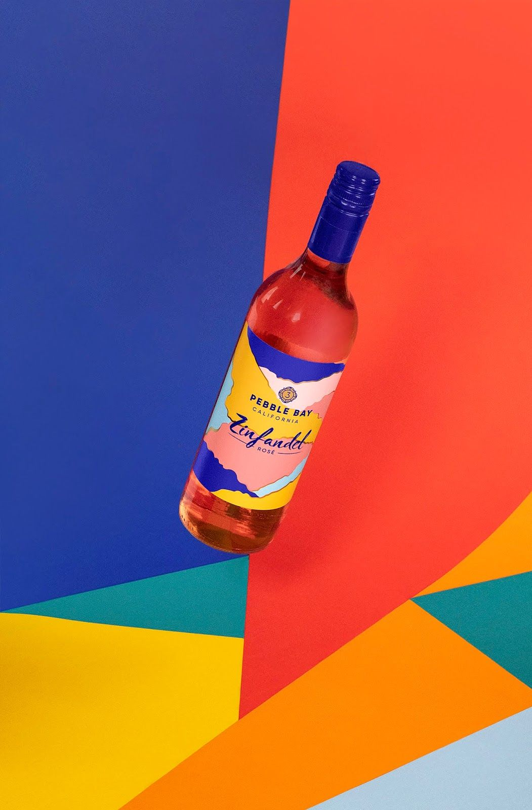 3 Pebble Bay Creative Packaging Design Packaging Design Inspiration Wine Packaging