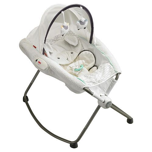 """Fisher-Price My Little Lamb Platinum Edition Deluxe Newborn Rock 'n Play Sleeper with Vibration - Fisher-Price - Babies """"R"""" Us"""