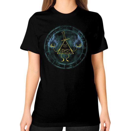 Nightmare Demon Unisex T-Shirt (on woman)