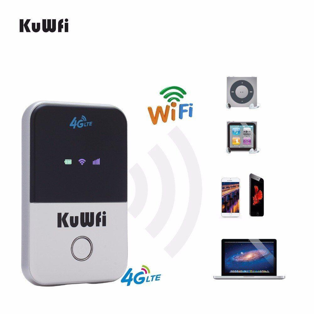 Kuwfi 4g wifi router mini 3g4g lte wireless router