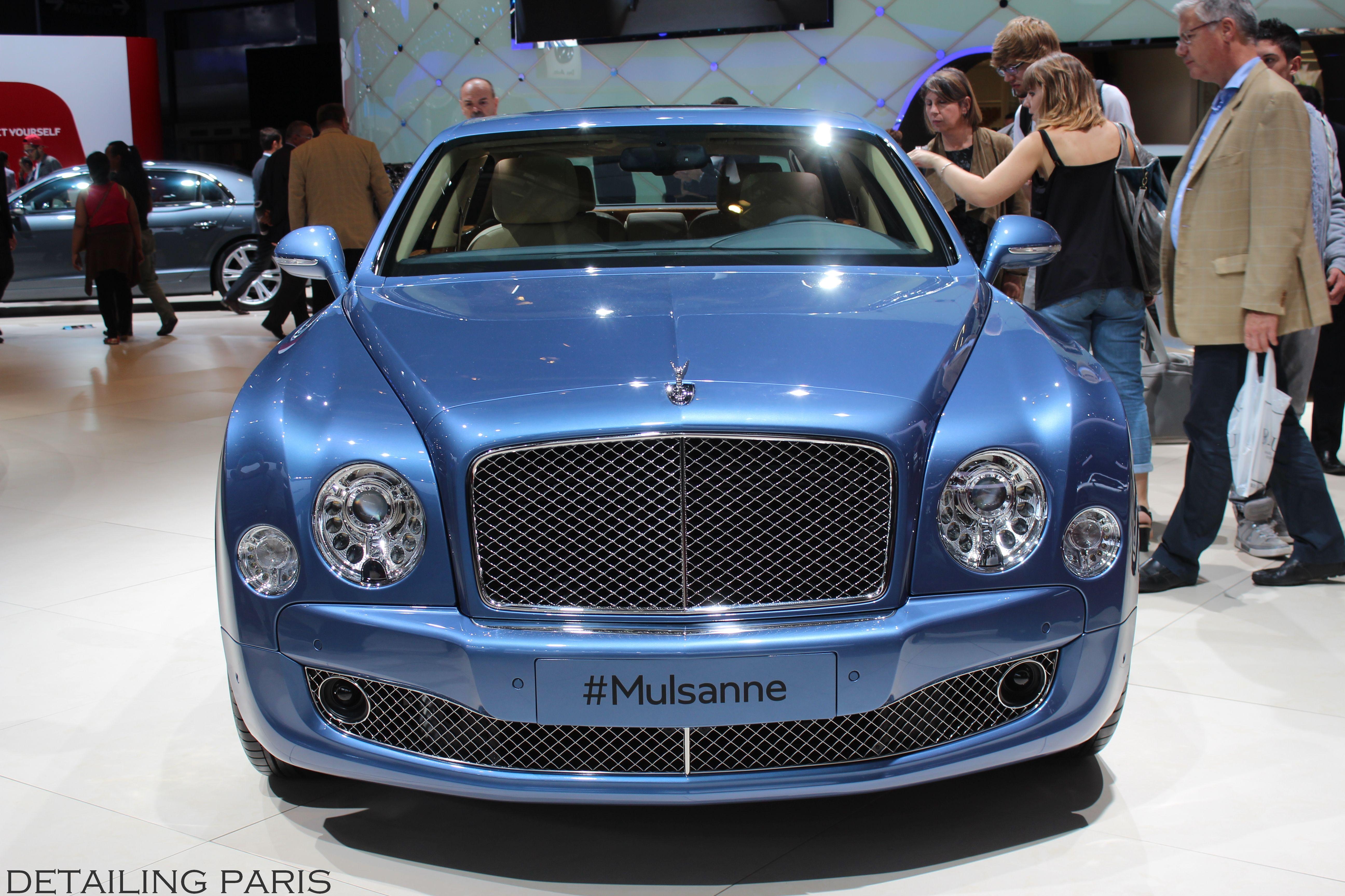 Mondial de l automobile 2014 Paris Bentley Mulsanne