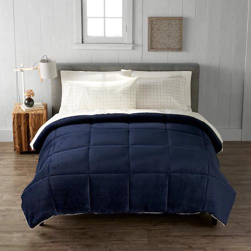 Cuddl Duds Cozy Soft Comforter In 2020 Soft Comforter