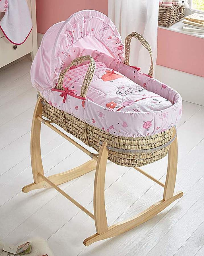 Clair De Lune Tippy Toes Moses Basket affiliate