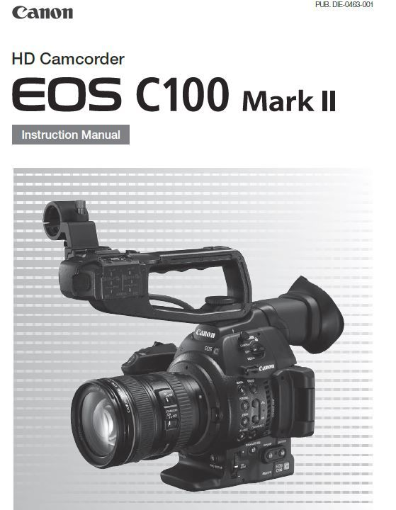 canon c100 mark ii instruction manual pdf link http rh pinterest com Nikon D3100 Reference Manual Nikon D800 Manual Espanol