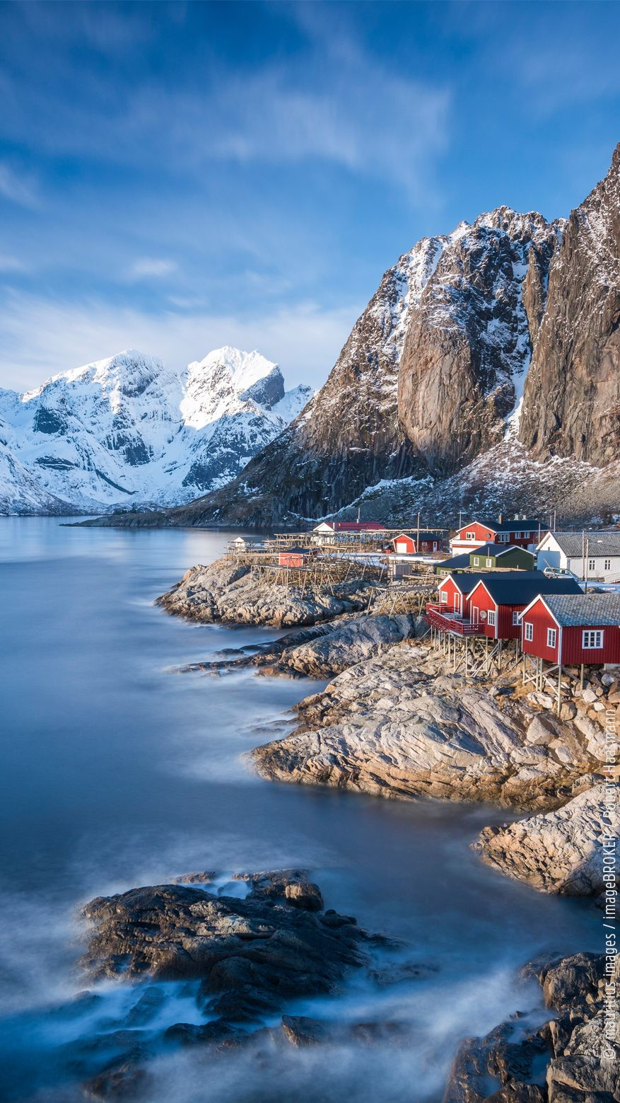 Traumort Des Tages Lofoten In Norwegen Norwegen Landschaft Lofoten Norwegen