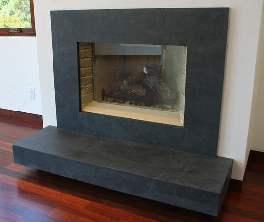How To Clean Slate Slate Fireplace Surround Slate Fireplace