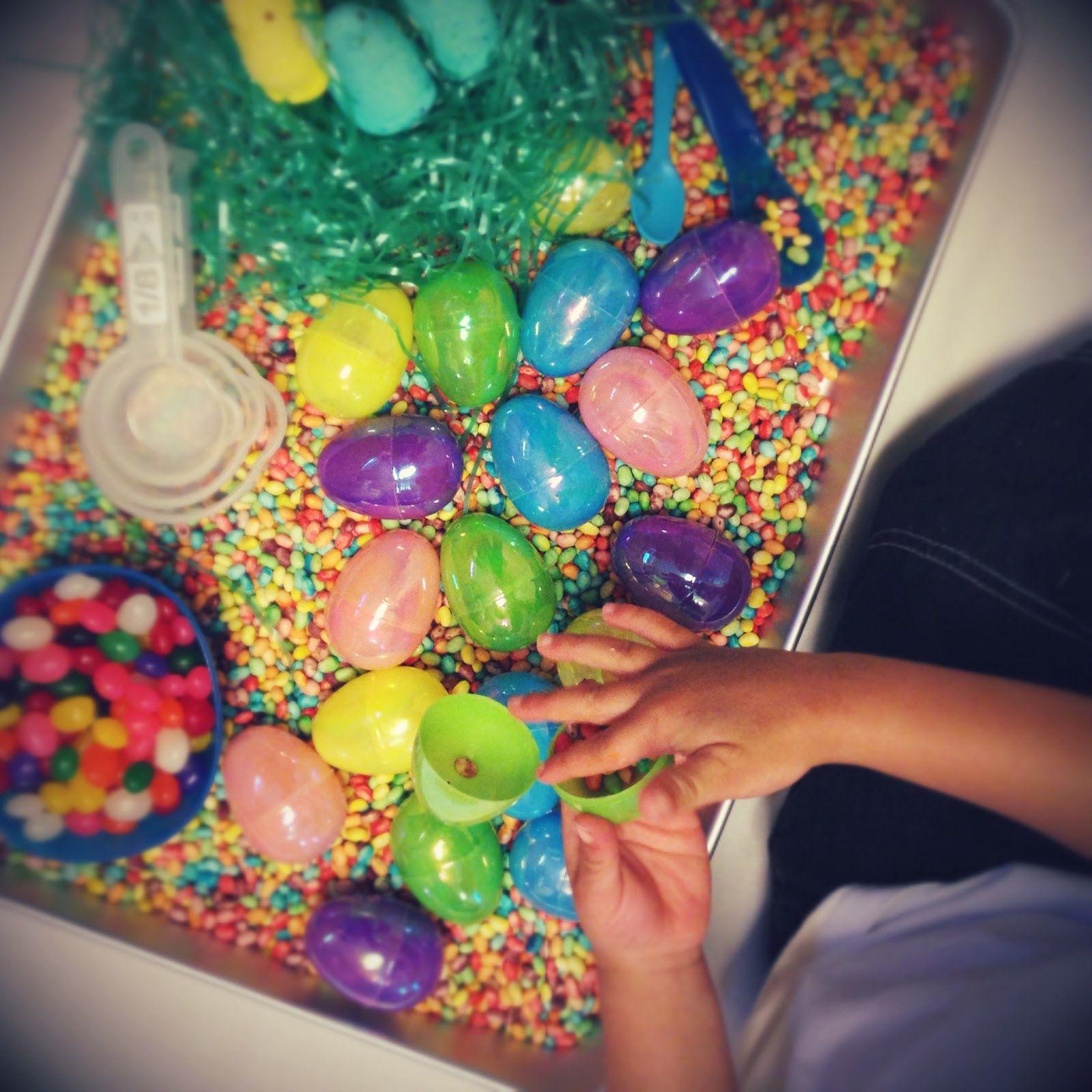 Peeps Play Easter Sensory Bin