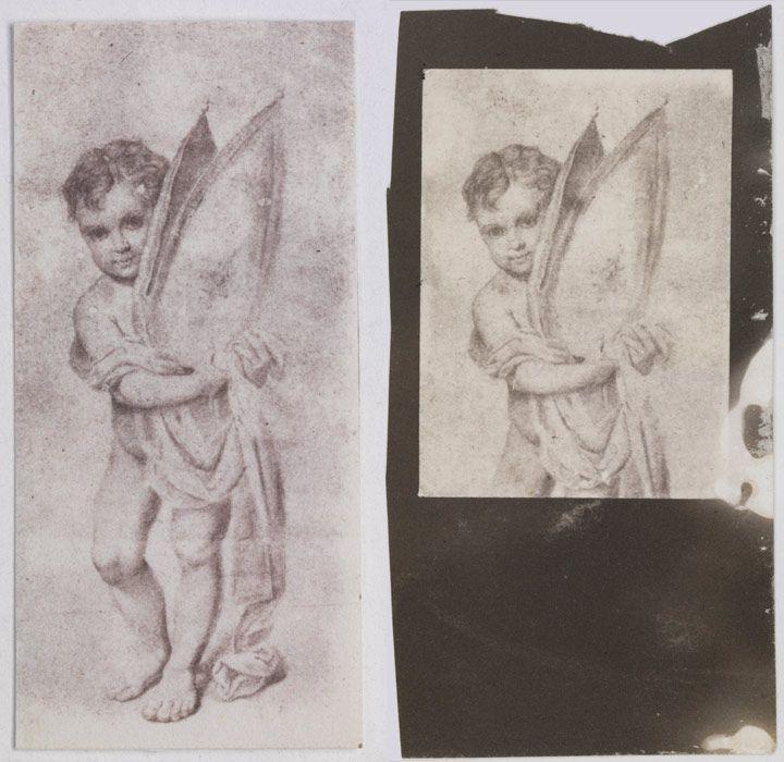 La fotografía en el taller. Cortar y reducir. - https://www.museodelprado.es/actualidad/exposicion/copiado-por-el-sol-los-talbotipos-de-los-annals/865a3e89-4c31-4410-bca9-52f81d1acf2a#